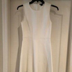Theory White sleeveless Dress NWOT - size 4